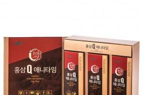 한독 네이처셋, 면역력 증진 강화한 '홍삼Q 애니타임' 출시