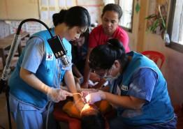 건보공단 건이강이봉사단, 캄보디아 해외봉사 활동 실시