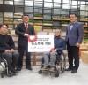 건보공단, 장애인 코로나19 예방을 위한 손소독제 지원